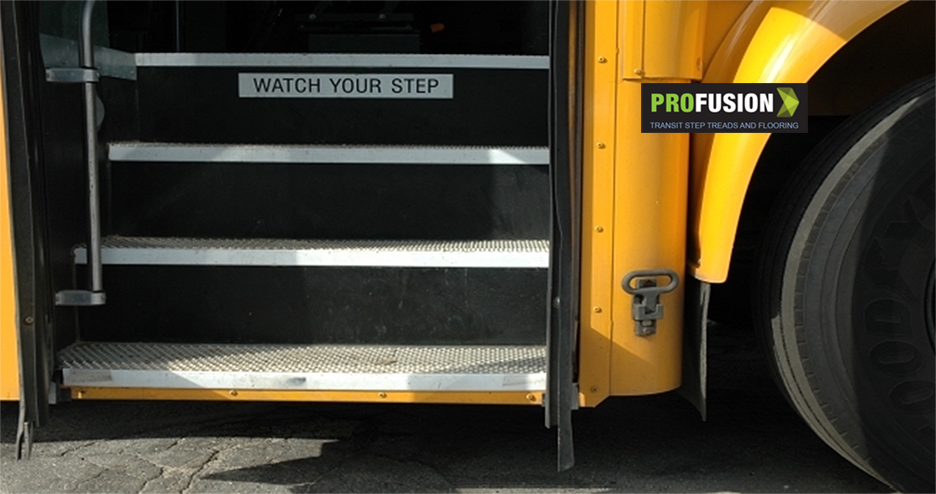 Bus and step treads with ProFusion name(2)